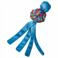 Jouet pour chien en nylon avec corde Wubba Weaves KONG S 22 cm