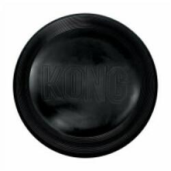 Jouet frisbee résistant noir pour chien KONG Flyer Extreme  24 cm