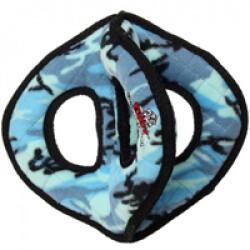 Jouet très résistant pour chien 3 anneaux motif camouflage Tuffy