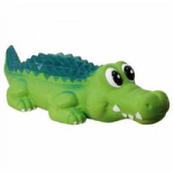Jouets crocodile en latex pour chien 35 cm