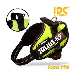 Harnais Julius-K9 IDC pour chien Power Baby 1 Jaune