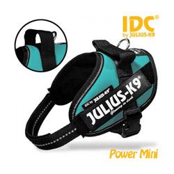 Harnais Julius-K9 IDC pour chien Power Mini Mini Bleu