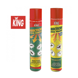 "King aérosol insecticide ""insectes rampants"" 750 ml"