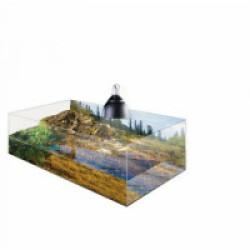 Kit complet Terrarium pour tortue aquatique 60 x 35 x 23cm Exo Terra