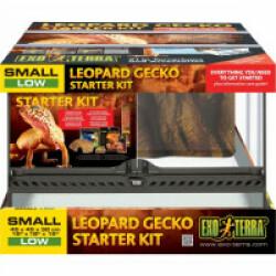 Kit terrarium pour Leopard Gecko 45 x 45 x 30cm Exo Terra