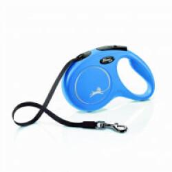 Laisse à enrouleur Flexi New Classic Sangle - XS 3M Bleu
