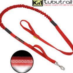 Laisse sports canins Kn'1 Tubutrail™ avec mousqueton standard