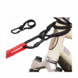 Accouple Linklock™Tresse et mousqueton Linklock 80 mm pour laisse Tubutrail