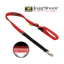 Laisse ceinture réglable à amortisseur Jogg'Shock Kn'1