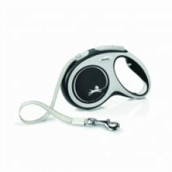 Laisse Comfort New Sangle Flexi - XS 3M Gris/Noir