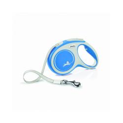Laisse Comfort New Sangle Flexi - M 5M Bleu