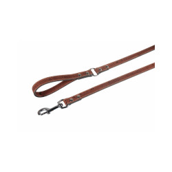 Laisse Cork pour chien Flamingo marron Long 1,10 m larg 1,2 cm