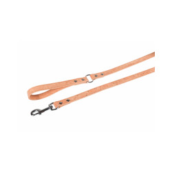 Laisse Cork pour chien Flamingo rustique Long 1,10 m larg 1,2 cm