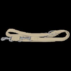 Laisse de dressage 3 positions en nylon Largeur 20 mm Longueur 2 m Chapuis Sellerie