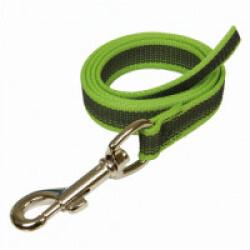 Laisse longe anti-dérapante verte Gommelaisse™ pour chien 1 m