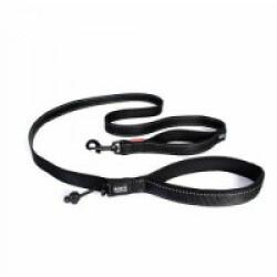 Laisse noire pour chien Soft Trainer Ezydog 1.8 m x 12.5 mm