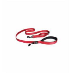 Laisse rouge pour chien Soft Trainer Ezydog 1.8 m x 12.5 mm