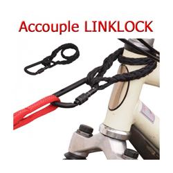 Accouple Linklock™ pour laisse sport de trait Kn'1 Tubultra