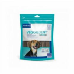 Lamelles dentaires anti-plaque VeggieDent Virbac Chiens 10-30 kg - M - 15 lamelles
