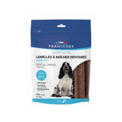 Lamelles dentaires Francodex à mâcher - pour chien (350g)
