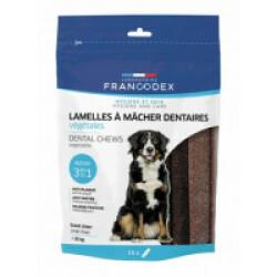 Lamelles dentaires Francodex à mâcher - pour grand chien (490g)