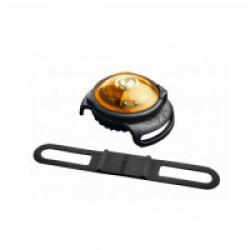 Lampe de sécurité Orbiloc Dog Dual collier lumineux pour chien Jaune