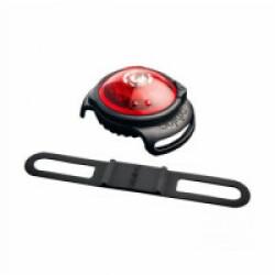 Lampe de sécurité Orbiloc Dog Dual collier lumineux pour chien Rouge