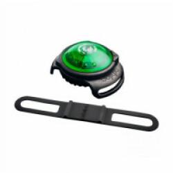 Lampe de sécurité Orbiloc Dog Dual collier lumineux pour chien Vert