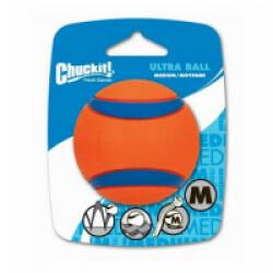 Balle Ultra Ball caoutchouc Chuck It Original Medium Diamètre 6 cm
