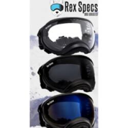 Lentille de remplacement pour masque Rex-Specs K9 Medium Claire