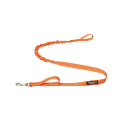 Ligne amortie ACTIV'DOG avec poignée - Orange