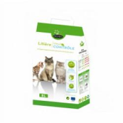 Litière pour chat écologique et agglomérante Octave Naturlys Sac 8 litres