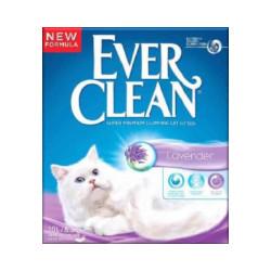 Litière pour chats Everclean Parfum Lavande 6 litres