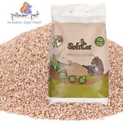 Litière végétale agglomérante Softcat pour chat sac de 17 litres