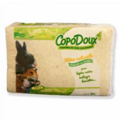 Litière aux copeaux de bois pour chat Copodoux 4 kg