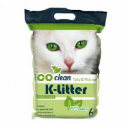 Litière écologique K-Litter au tofu / thé vert 6 L