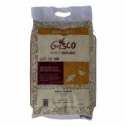 Litière végétale et biodégradable rafle de maïs 3 kg