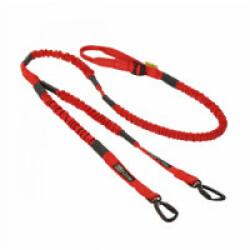 Longe Cani VTT Kn'1 Tububike ™ Dual-Hook 2 chiens