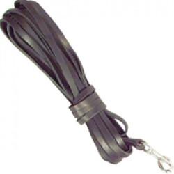 Longe de pistage cuir extra pour chien 10 m lg 10 mm
