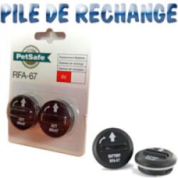 Lot de 2 Piles module boutons à visser 6 V RFA 67 D 11