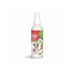 Lotion anti-insectes pour chien Insect Plus Naturlys flacon 125 ml