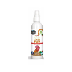 Lotion végétale anti-poux pour poules Biovetol - Spray de 240 mL