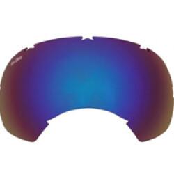 Lentille de remplacement pour masque Rex-Specs K9 XS Bleu miroir