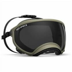 Masque Rex-Specs Small Wide (pour museau écrasé) Beige lentilles claire et fumée