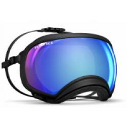 Masque Rex-Specs XL Noir lentilles bleue miroir et claire