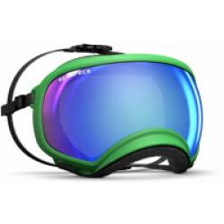 Masque Rex-Specs XL Vert lentilles claire et bleue miroir