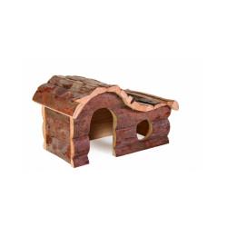 Maison Hana Natural Living Trixie pour rongeurs Longueur 20 cm Largeur 11 cm Hauteur 14 cm (Souris, Hamsters)