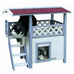 Maison pour chat à 2 étages Lodge Ontario