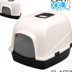 Maison toilette Box Jumbo Classic pour litière de chat (55 x 70 x hauteur 46 cm)