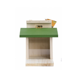 Mangeoire en bois pour écureuil Plume & Cie